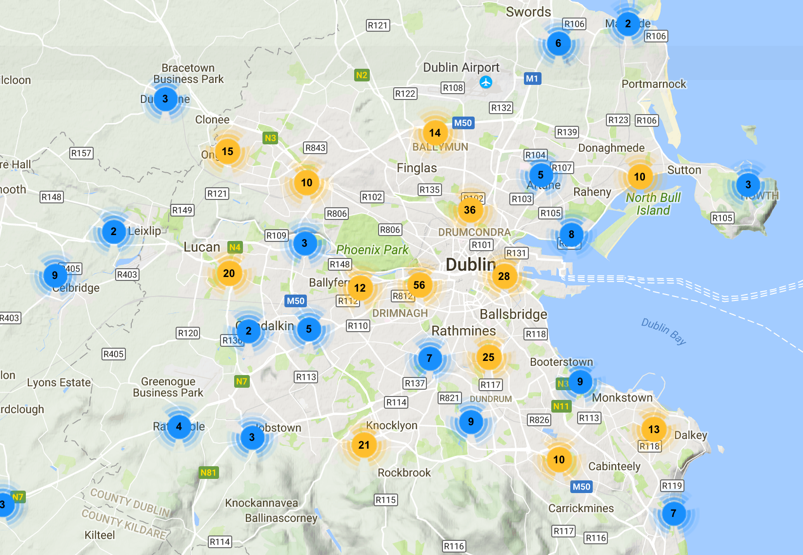 Check out the public events in Dublin this year!